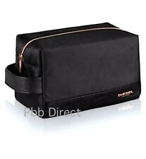 DIESEL TOILETRY WASH BAG MENS SHAVE TRAVEL HOLIDAY POUCH NEW *FATHERS DAY OFFER*