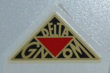 Delta Gnom Schriftzug Wasserabziehbild Abziehbild  41x21mm 07830D schw./rot/gold