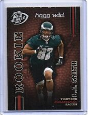 L.J. SMITH Eagles /Rutgers 2003 Playoff Hogg Heaven #159 Hogg Wild RC /100 SP