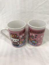 HELLO KITTY CHRISTMAS COFFEE CUP MUG DRUMMER MOUSE GIFTS SNOWFLAKES 2013 SANRIO