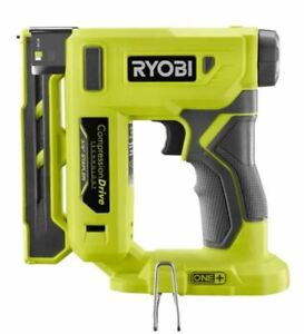 """Ryobi P317 18V ONE+ Cordless Compression Drive 3/8"""" Crown Stapler Tool Only New"""