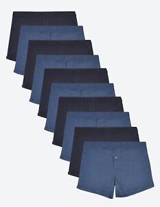 M&S COLLECTION 10pk Pure Cotton Mens Trunks RRP £27.50 Size XL