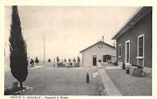 3420) WW1 IL PIAZZALE E IL MUSEO SUL MONTE SAN MICHELE (GORIZIA).