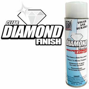 KBS Diamond Finish Clear Aerosol-High Performance Clear Coat - 16oz SATIN FINISH