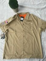 New Orleans Saints Nike Salute to Service Sideline Button-Up Short Sleeve XXL