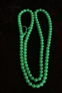 Green jade Mala 7mm