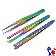Profesional de titanio cubierto Color Belleza Inclinado De Pestañas Pelo de dicho