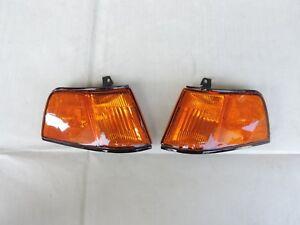 Amber Corner Lamp Light LH RH Pair 4th CSH9 For HONDA 90-91 4DR Civic SH4 EF2 ED
