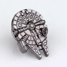 STAR WARS Millennium Falcon Logo Metal Pin brooch prop badge darth vader cosplay