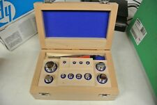 Mettler Toledo Calibration Weight Set 1G-500G 158881 F1 1G 2G 5G10G 20G 50G 200G