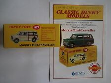 Morris Mini-Traveller (197) CLASSIC DINKY MODEL by Atlas New Sealed