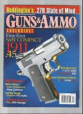 LOT OF (11) COMBAT HANDGUNS BACK ISSUE MAGAZINES -2009 *VERY GOOD CONDITION