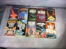 Lot 10 All 1st Ed. Star Trek Paperback Novels
