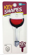 RED WINE GLASS - NOVELTY HOUSE KEY BLANK - LW4 C4 - For the wine enthusiasts