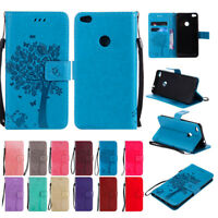 For Huawei P8 P9 Lite 2017 P10 Lite Wallet Flip PU Leather Card Slots Case Cover