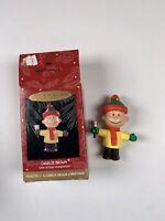 Hallmark Keepsake Ornament  THE PEANUTS GANG CHARLIE BROWN Collector's Series