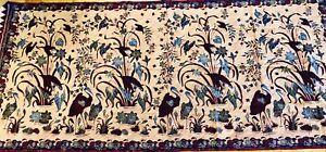 Antique Batik Java Indonesia Kain Panjong Textile Early 1900's Superb Condition