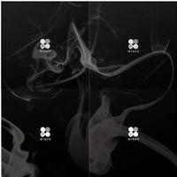 WINGS  BTS 2nd Album Random Ver. CD+96p Photo Book+1p Card K-POP sealed