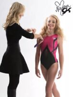 NASTIA LIUKIN Gymnastics Leotard GK Elite CELEBRATION Sequin SOLD OUT Sz: AM