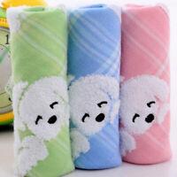 Cotton baby soft hand towel infant cartoon handkerchief towelschief towe JCAU