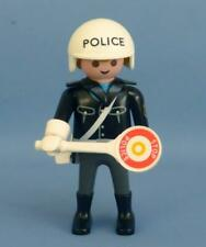 Playmobil moto police/agent figure masculine & SIGNE-City Life/Station