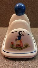 4-SLOT PORCELAIN TOAST HOLDER RACK QUIMPER STYLE MADE IN CHINA