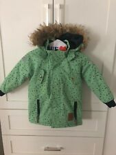 Mini Rodini Kids Unisex Coat Parka Size 104 110