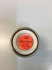 Humbrol Enamel 192 Blaze Matt 14ml AA0192