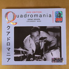 QUADROMANIA - JAZZ EDITION - GENE KRUPA - 4CD - OTTIMO CD [AQ-037]