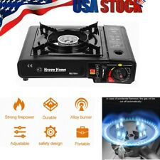 Portable Gas Cooker Stove Butane Burner Camping Indoor Outdoor Tabletop Stove