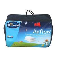 Silentnight Cool & Fresh Airflow Pillow - 2 Pack
