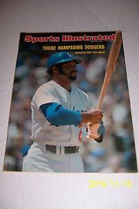 1974 Sports Illustrated LOS ANGELES Dodgers Jim WYNN No Label STEVE GARVEY