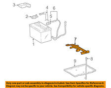 TOYOTA OEM Battery-Hold Down Tie Bracket Clamp 7440406050