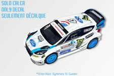 1/43 DECAL Ken Block Gymkhana 10 Sweden Ford Fiesta WRC Rally Hoonigan Racing