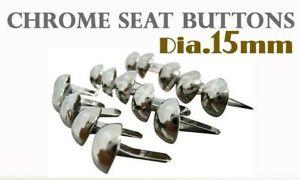 [SC] SUZUKI T500 T250 TC T305 CHROME SEAT BUTTON 100PCS #4
