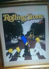 The Simpsons Do Abbey Road - Rolling Stone Cover - Mini Poster not front page
