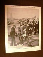 Biennale di Venezia nel 1928 Duca di Bergamo Ministro Volpi Podestà Conte Orsi