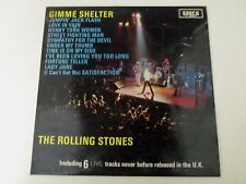 THE ROLLING STONES - GIMME SHELTER - LP 1971 DECCA ITALY SKLI 5101 - NM/VG++