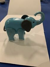 Fisher Price Little People Vintage 991 Circus Train BLUE ELEPHANT Used