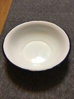 RESTAURANT WARE Porcelain Glazed Soup Bowl MADE IN POLAND Vintage Marked