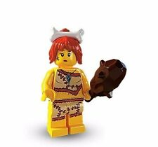 Lego Minifigures Series 5  Cave Women  8805 In Factory Sealed Package.