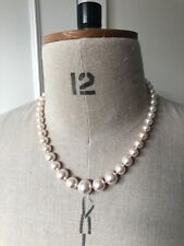 USED   Fake Short Pearl Necklace