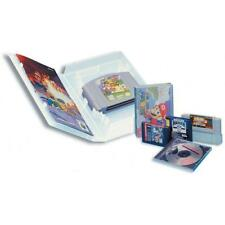 4 - Universal Video Game Cases - Clear - Brand New