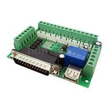1PCS 5 Axis Interface CNC Breakout Board For Stepper Driver Controller MACH3 New