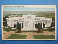 Arlington, VA, Memorial Amphitheatre vintage PC Postcard