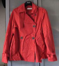 Neuf! Trench Coat, parka Camaieu printemps, rouge-orange 36 (S)