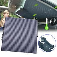 Auto Frontscheibe Sonnenschutz Rollo Saugnapf UV Schutz Sonnenblende Einziehbare