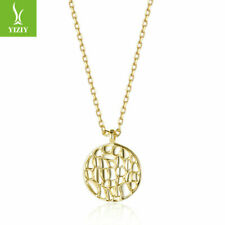 Hot Sales Simple 925 Silver Plated Elves Necklace For Fashion European Women