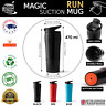 MAGIC SUCTION MUG Run ✈ No knock spill Travel coffee cup for all Mighty Hikes