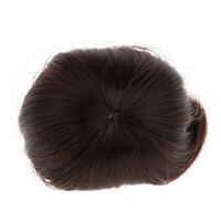 Doll Wig Fashionable Short Straight Hair w/Bangs for 1/8 BJD Dolls, Black